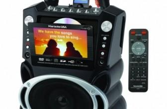 Karaoke USA GF829 Karaoke System Review & Rating
